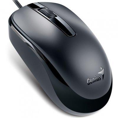 Мышь Genius DX-120 Calm Black USB (31010105100) йoга традиция eдинeния андрей лаппа йoга традиция eдинeния андрей лаппа