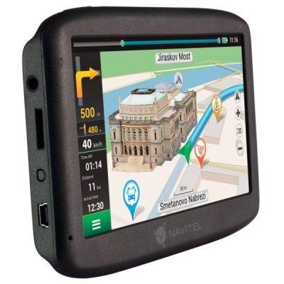 Навигатор GPS Navitel E500 (Navitel E500) gps навигатор lexand sa5 hd 5 авто 4гб navitel 8 7 с расширенным пакетом картографии черный