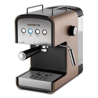 Кофеварка Polaris PCM 1526E Adore Crema (PCM 1526E ADORE CREMA) кофеварка polaris pcm0210 капельная черный салатовый