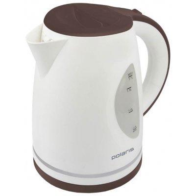 Электрический чайник Polaris PWK 1784CL (PWK 1784CL)Электрические чайники Polaris<br>Чайник электрический Polaris PWK 1784CL 1.7л. 2200Вт белый/бордовый (корпус: нержавеющая сталь)<br>