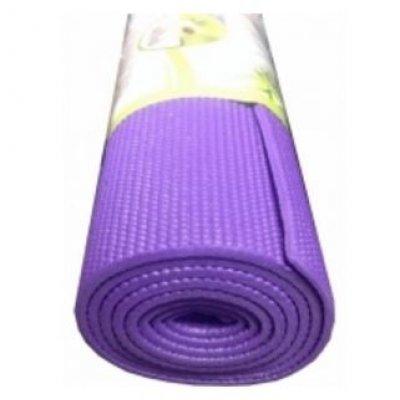 Коврик для йоги HouseFit PVC YOGA MAT&amp;#039;1730x610x5 фиолетовый 1231-20 (1231-20 ФИОЛ.)Коврики для йоги HouseFit<br><br>