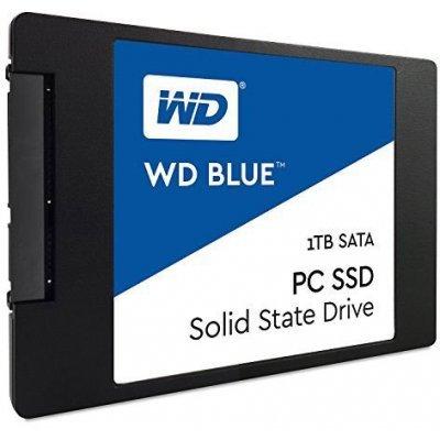 Жесткий диск ПК Western Digital WDS100T1B0A 1Tb (WDS100T1B0A)Жесткие  диски ПК Western Digital<br>SSD жесткий диск SATA2.5 1TB TLC BLUE WDS100T1B0A WDC<br>