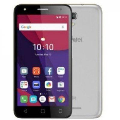 Смартфон Alcatel PIXI 4 5010D серебристый (5010DMETAL/SILVER)Смартфоны Alcatel<br><br>