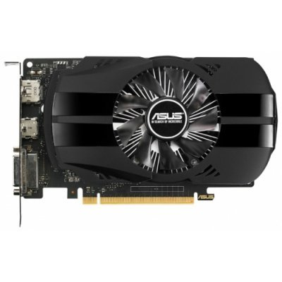 Видеокарта ПК ASUS GeForce GTX 1050 1354Mhz PCI-E 3.0 2048Mb 7008Mhz 128 bit DVI HDMI HDCP Phoenix (90YV0AA0-M0NA00)Видеокарты ПК ASUS<br>видеокарта NVIDIA GeForce GTX 1050<br>2048 Мб видеопамяти GDDR5<br>частота ядра/памяти: 1354/7008 МГц<br>разъемы DVI, HDMI, DisplayPort<br>поддержка DirectX 12, OpenGL 4.5<br>работа с 3 мониторами<br>