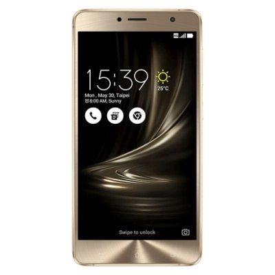 Смартфон ASUS ZenFone 3 Delux ZS550KL-2G008RU 64Gb золотистый (90AZ01F1-M00090)Смартфоны ASUS<br>Смартфон Asus ZenFone Delux ZF3 ZS550KL 64Gb золотистый моноблок 3G 4G 2Sim 5.5 1080x1920 Android 6.0 16Mpix 802.11abgnac BT GPS GSM900/1800 GSM1900 TouchSc MP3 A-GPS microSD max128Gb<br>