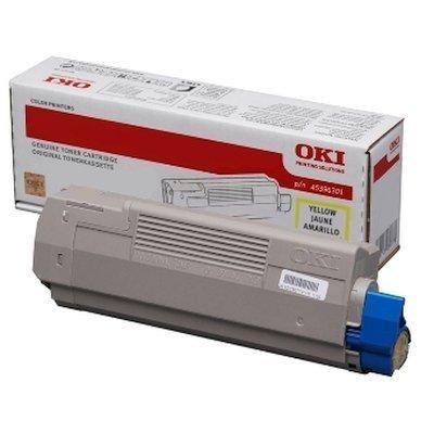Тонер-картридж для лазерных аппаратов Oki МС760/770/780 6K (yellow) (45396301) oki oki c9655dn