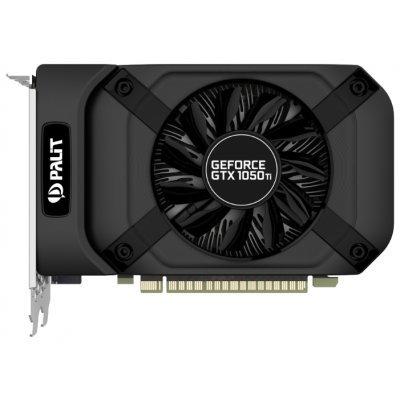 Видеокарта ПК Palit GeForce GTX 1050 Ti 1290Mhz PCI-E 3.0 4096Mb 7000Mhz 128 bit DVI HDMI HDCP StormX (NE5105T018G1-1070F) видеокарта 4096mb palit geforce gtx1050ti stormx pci e pa gtx1050ti stormx 4g retail ne5105t018g1 1070f