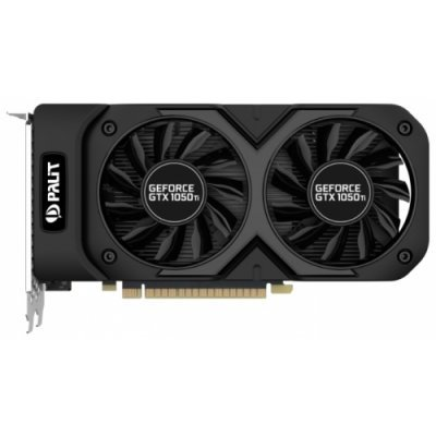 Видеокарта ПК Palit GeForce GTX 1050 Ti 1366Mhz PCI-E 3.0 4096Mb 7000Mhz 128 bit DVI HDMI HDCP Dual OC (NE5105TS18G1-1071D)