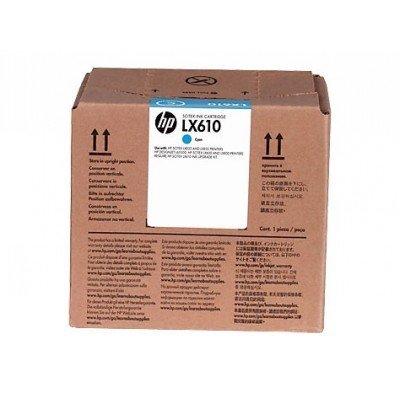 Картридж для струйных аппаратов HP LX610 1x3L Cyan Latex Ink Cartridge (CN670A)Картриджи для струйных аппаратов HP<br>LX610 1x3L Cyan Latex Ink Cartridge<br>