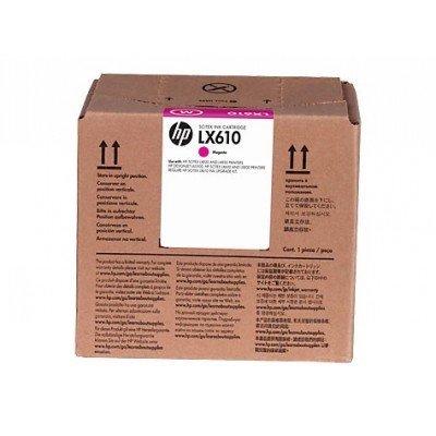 Картридж для струйных аппаратов HP LX610 1x3L Mag Latex Ink Cartridge (CN671A)Картриджи для струйных аппаратов HP<br>LX610 1x3L Mag Latex Ink Cartridge<br>