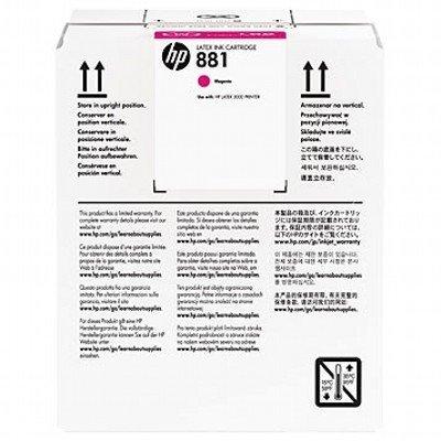 Картридж для струйных аппаратов HP 881 5-Ltr Magenta Latex Ink (CR332A)Картриджи для струйных аппаратов HP<br>881 5-Ltr Magenta Latex Ink Cartridge<br>
