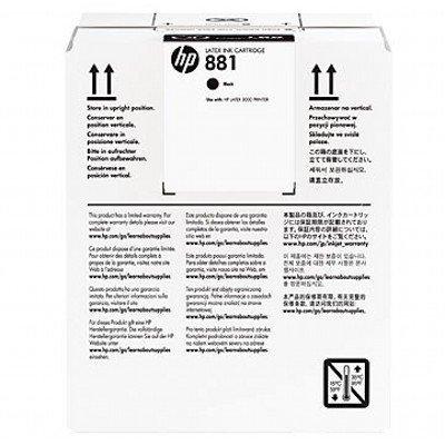Картридж для струйных аппаратов HP 881 5-Ltr Black Latex Ink (CR334A) картридж для струйных аппаратов hp 728 yellow ink f9j61a