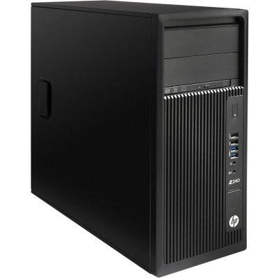Рабочая станция HP Z240 (Y3Y27EA) (Y3Y27EA)Рабочие станции HP<br>Tower / Win10p64 / 8GB DDR4-2133 nECC (2x4GB) UDIMM / NVIDIA Quadro K620 2GB / 1TB 7200 / E3-1225v5 3.3 GHz TWR / 3yw / SuperMultiODD / USBBusinessSlimkbd / USBmouse<br>