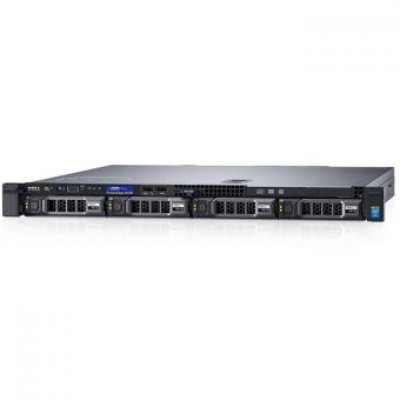 Сервер Dell PowerEdge R230 (R230-AEXB-002) (R230-AEXB-002)Серверы Dell<br>1U/ E3-1230v5 3,4Ghz/ 1x8Gb UDIMM(2133)/ H330/ 1x1Tb SATA 7.2K LFF/ UpTo(4)LFF HotPlug/ DVDRW/ iDRAC8 Ent/ 2xGE/ PS250W(cable)/ Bezel/ Static Rails/no ARM/PCI-E: 1xF+1xL/ 3YBWNBD<br>