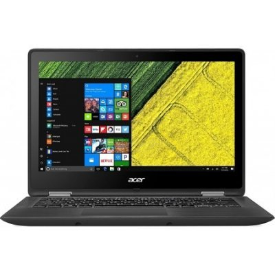 Ультрабук-трансформер Acer Aspire SP513-51-37UY (NX.GK4ER.005) (NX.GK4ER.005)Ультрабуки-трансформеры Acer<br>Ультрабук Acer Aspire SP513-51-37UY Core i3 6100U/4Gb/SSD256Gb/Intel HD Graphics/13.3/Touch/FHD (1920x1080)/Windows 10/black/WiFi/BT/Cam/4mAh<br>