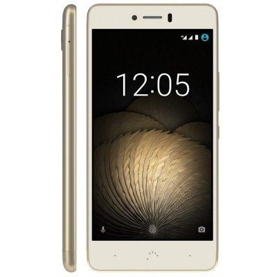 Смартфон BQ Aquaris U Plus 16Gb белый/золотистый (C000235) смартфон bq aquaris u lite 16gb white gold