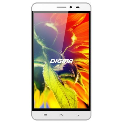 Смартфон Digma S505 3G Vox 8Gb белый (VS5017MG white) digma vox s502 3g