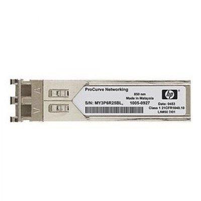 Трансивер HP JD118BR (JD118BR)Трансиверы HP<br>HPE X120 1G SFP LC SX Reman Transceiver<br>