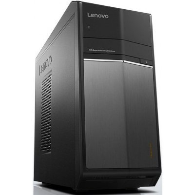Настольный ПК Lenovo IdeaCentre 710-25ISH (90FB002HRS) (90FB002HRS)Настольные ПК Lenovo<br>IdeaCentre 710-25ISH/Intel Core i5-6400 2.70GHz Quad/8GB/2TB+128GB SSD/GF GTX960 2GB/DVD-RW/CR/W10H/1Y/BLACK<br>