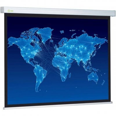 Проекционный экран Cactus CS-PSPMT-149x265 (CS-PSPMT-149X265)Проекционные экраны Cactus<br>Экран Cactus 149x265см Professional Tension Motoscreen CS-PSPMT-149x265 16:9 настенно-потолочный рулонный (моторизованный привод)<br>