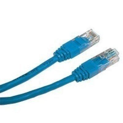 Кабель Patch Cord Telecom NA102-L-2M кат.5е 2,0м синий (NA102-L-2M) кабель аудио 3 5 мм telecom tav7183 2m tav7183 2m