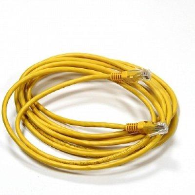 Кабель Patch Cord AOPEN ANP511_3M_Y кат.5е 3м желтый (ANP511_3M_Y)Кабели Patch Cord AOPEN<br>Патч-корд литой Aopen/Qust UTP кат.5е 3м желтый<br>