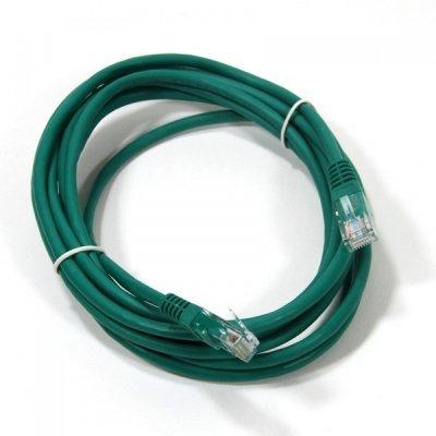 Кабель Patch Cord AOPEN ANP511_3M_G кат.5е 3м зеленый (ANP511_3M_G)Кабели Patch Cord AOPEN<br>Патч-корд литой Aopen/Qust UTP кат.5е 3м зеленый<br>