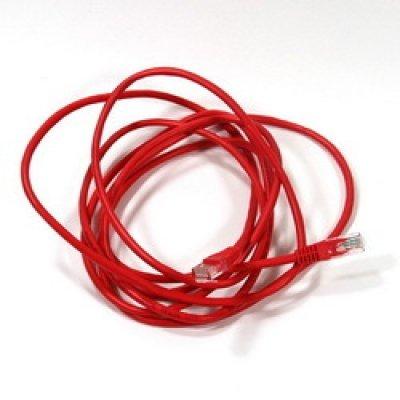 Кабель Patch Cord AOPEN ANP511_3M_R кат.5е 3м красный (ANP511_3M_R) кабель patch cord utp 5м категории 5е синий nm13001050bl