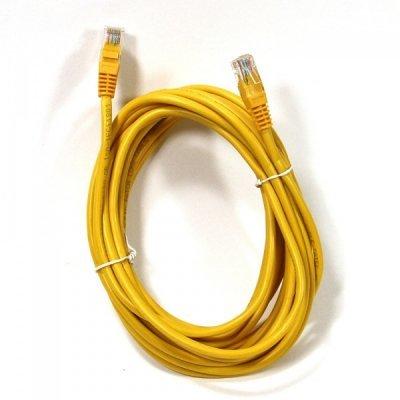 Кабель Patch Cord AOPEN ANP511_5M_Y кат.5е 5м желтый (ANP511_5M_Y) кабель patch cord utp 5м категории 5е синий nm13001050bl