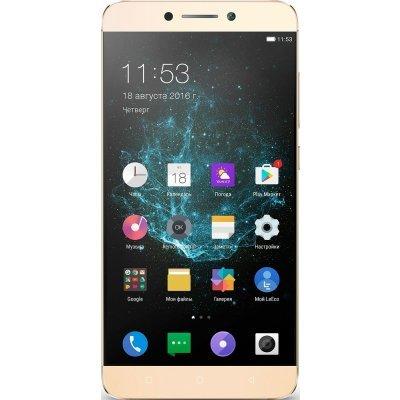 Смартфон LeEco Le 2 X527 32GB золотистый (Le 2 X527 32GB Gold)Смартфоны LeEco<br>Смартфон LeEco Le 2 X527 32Gb золотистый моноблок 3G 4G 2Sim 5.5 1080x1920 Android 6.0 16Mpix 802.11bgn BT GPS GSM900/1800 GSM1900 MP3 A-GPS<br>
