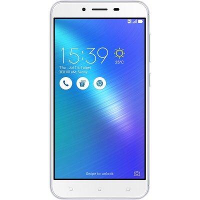 Смартфон ASUS ZenFone 3 Max ZC553KL-4J027RU 32Gb серебристый (90AX00D3-M00300)Смартфоны ASUS<br>Смартфон Asus ZenFone 3 Max ZC553KL 32Gb серебристый моноблок 3G 4G 2Sim 5.5 1920x1080 Android 6.0 16Mpix 802.11bgn BT GPS GSM900/1800 GSM1900 TouchSc MP3 A-GPS microSD max128Gb<br>