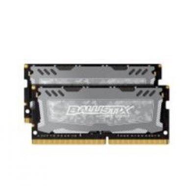 Модуль оперативной памяти ПК Crucial BLS2C8G4S240FSD (BLS2C8G4S240FSD)Модули оперативной памяти ПК Crucial<br>Память DDR4 2x8Gb 2400MHz Crucial BLS2C8G4S240FSD RTL PC3-12800 CL9 SO-DIMM 204-pin 1.35В kit<br>
