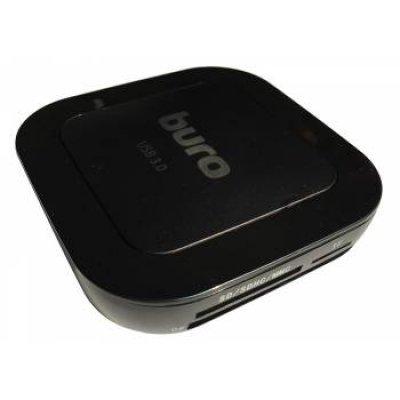 Картридер Buro BU-CR/HUB3-U3.0-C004 черный (BU-CR/HUB3-U3.0-C004)Картридеры Buro<br>Устройство чтения карт памяти USB3.0 Buro BU-CR/HUB3-U3.0-C004 черный<br>