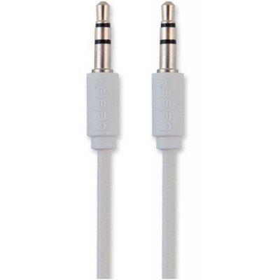 Кабель аудио 3,5 мм Belsis BL1028 1 м. белый (BL1028) кабель соединительный 0 5м hama 3 5 jack m 3 5 jack m позолоченные контакты черный 00173871