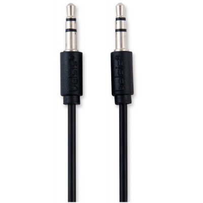 Кабель аудио 3,5 мм Belsis BL1029 1 м. черный (BL1029) кабель 3 5 мм jack 2xrca audioquest tower01mr