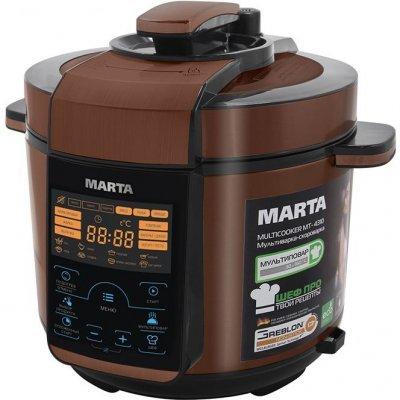 Мультиварка Marta MT-4310 черный/медь (MT-4310) мультиварка