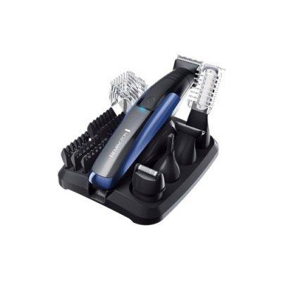Машинка для стрижки Remington PG 6160 (PG 6160)Машинки для стрижки Remington <br>набор для стрижки<br>питание автономное<br>самозатачивающиеся лезвия<br>материал лезвий: титан<br>стрижка бороды<br>подставка для зарядки<br>влажная очистка<br>
