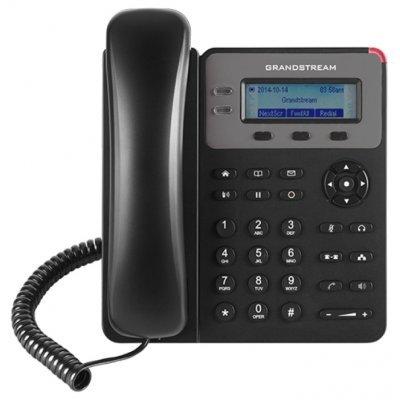 VoIP-телефон Grandstream GXP-1615 (GXP-1615)VoIP-телефоны Grandstream<br>VoIP-телефон, протоколы связи: SIP, громкая связь (Hands Free), подключение гарнитуры, встроенный черно-белый LCD-дисплей, порты: WAN, LAN<br>