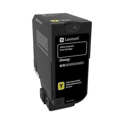 Тонер-картридж для лазерных аппаратов Lexmark желтого цвета (3000) CX725de/CX725dhe/CS725de/CS720de (74C50YE)Тонер-картриджи для лазерных аппаратов Lexmark<br>Ресурс 3000 страниц, цвет: желтый, тип: лазерный, совместим с: CX725de, CX725dhe, CS725de, CS720de (74C50YE)<br>