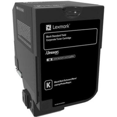 Тонер-картридж для лазерных аппаратов Lexmark черного цвета стандартной емкости (7000) CX725de/CX725dhe/CS725de/CS720de (74C5SKE)Тонер-картриджи для лазерных аппаратов Lexmark<br>Картридж Lexmark с тонером черного цвета стандартной емкости  (7000) CX725de/CX725dhe/CS725de/CS720de<br>