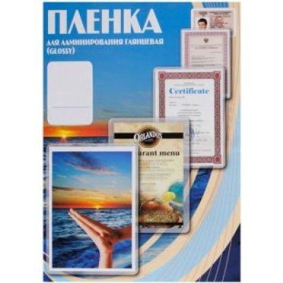 Пленка для ламинирования Office Kit глянцевая 65х95 мм / 80 мкм / 100 шт в упаковке. (PLP10604-1) пленка для ламинирования office kit глянцевая 154х216 мм a5 75 мкм 100 шт в упаковке plp10220