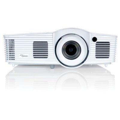 Проектор Optoma DU400 (95.72Y01GCLR)Проекторы Optoma<br>Проектор Optoma DU400 (DLP, WUXGA 1920x1200, 4000Lm, 15000:1, 2xHDMI, MHL, LAN, 1x10W speaker, 3D Ready, lamp 7000hrs, WHITE, 2.99kg)<br>