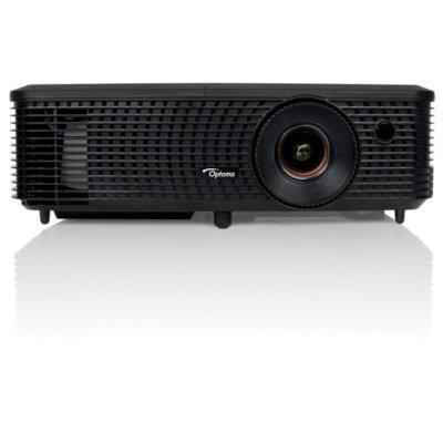 Проектор Optoma DH1010i (95.72J01GCLR)Проекторы Optoma<br>Проектор Optoma DH1010i (DLP, 1080p 1920x1080, 3000Lm, 20000:1, HDMI, 1x2W speaker, 3D Ready, lamp 10000hrs, Black, 2.17kg)<br>