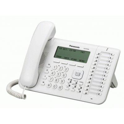 Системный телефон Panasonic KX-DT546RUW белый (KX-DT546RUW) телефон panasonic kx ts2382ruw белый