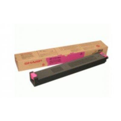 Тонер-картридж для лазерных аппаратов Sharp MX27GTMA MX-2300N/MX-2700N/MX-3500N/MX-4500N magenta (MX27GTMA) тонер картридж черный mx 31gtba