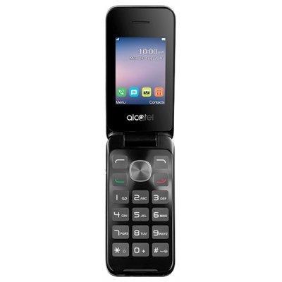 Мобильный телефон Alcatel OneTouch 2051D серебристый (2051D-3AALRU1) мобильный телефон alcatel onetouch 2051d белый 2051d 3balru1