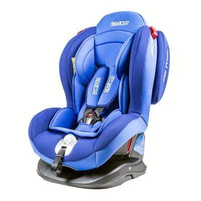 Детское автокресло Sparco F2000K BL от 0 до 25 кг (0+/1/2) (F2000K BL)Детские автокресла Sparco<br>Автокресло детское Sparco F2000K BL от 0 до 25 кг (0+/1/2)<br>