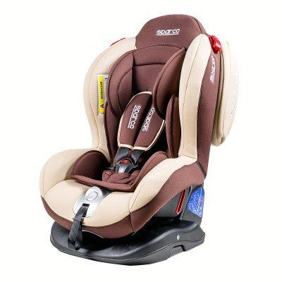 Детское автокресло Sparco F2000K BR от 0 до 25 кг (0+/1/2) коричневый (F2000K BR)Детские автокресла Sparco<br>Автокресло детское Sparco F2000K BR от 0 до 25 кг (0+/1/2) коричневый<br>