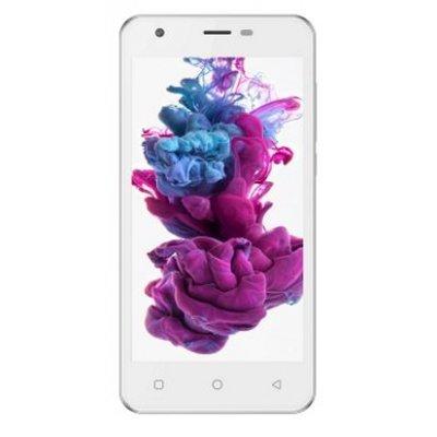 Смартфон Irbis SP57 белый (SP57W)Смартфоны Irbis<br>5 (1280x720IPS), MTK6737 4x1,3Ghz (QuadCore), 1024MB, 8GB, cam 2.0MPx+8.0MPx, Wi-Fi, LTE+3G (2xSimCard), Bluetooth, GPS, Android 6, microUSB, MicroSD, jack 3.5, ,белый<br>