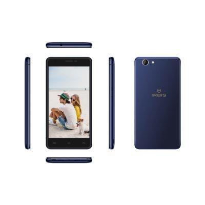 Смартфон Irbis SP58 синий (SP58BL) смартфон irbis sp21 белый sp21w